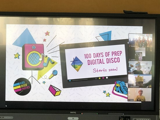 100 days of school Disco